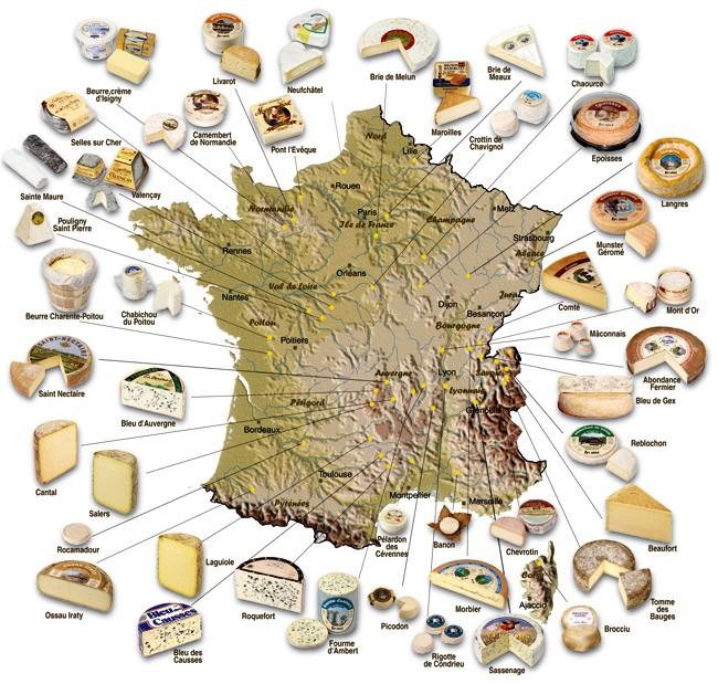 fromages-de-france