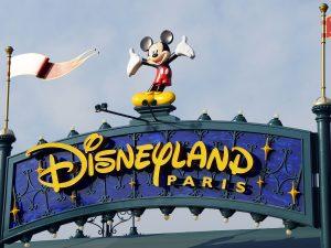 Ingang Disneyland Parijs